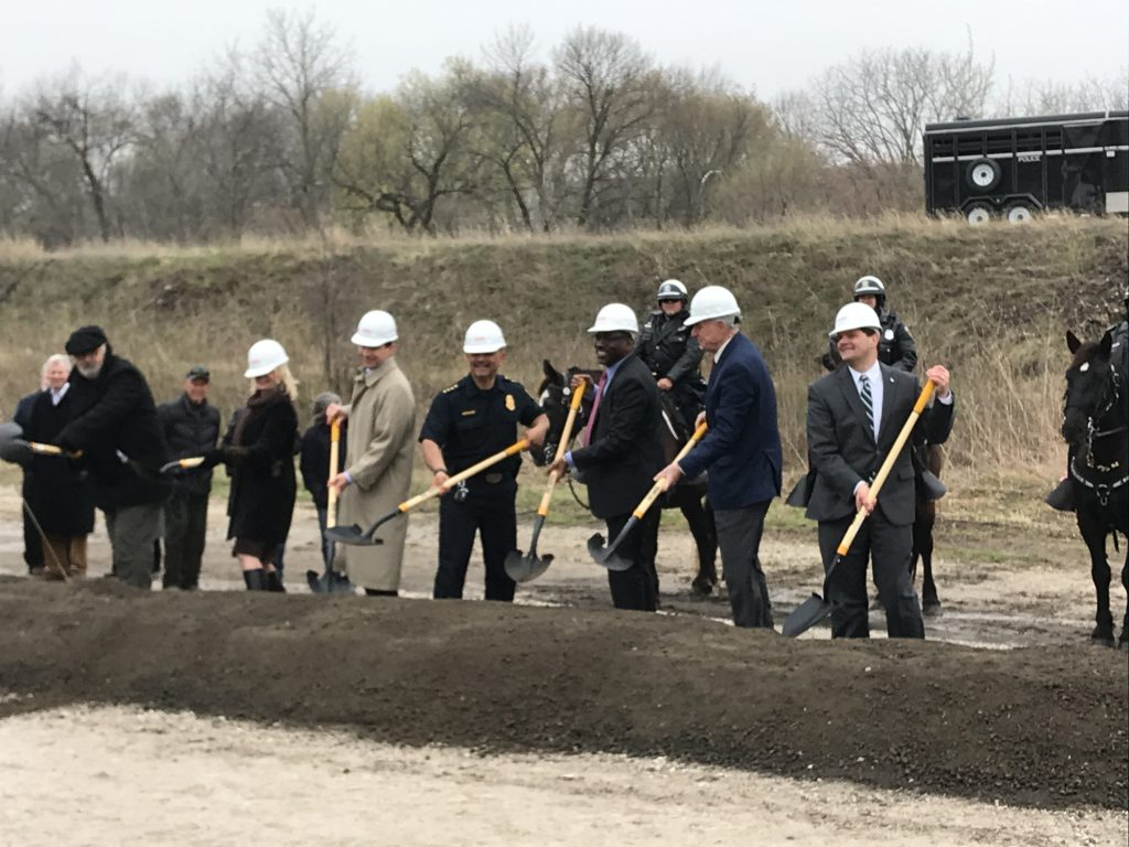 MKE Urban Stables ground breaking. Photo by Graham Kilmer.