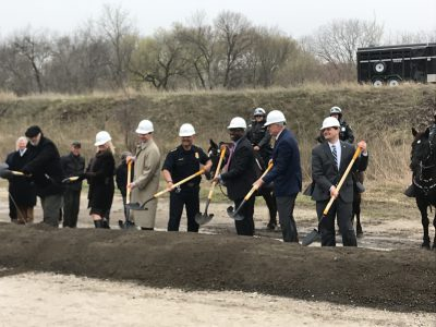 City's New Horse Stables Break Ground
