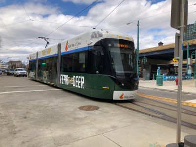 "Transportation: Bucks, City Unveil ""Fear the Deer"" Streetcar"