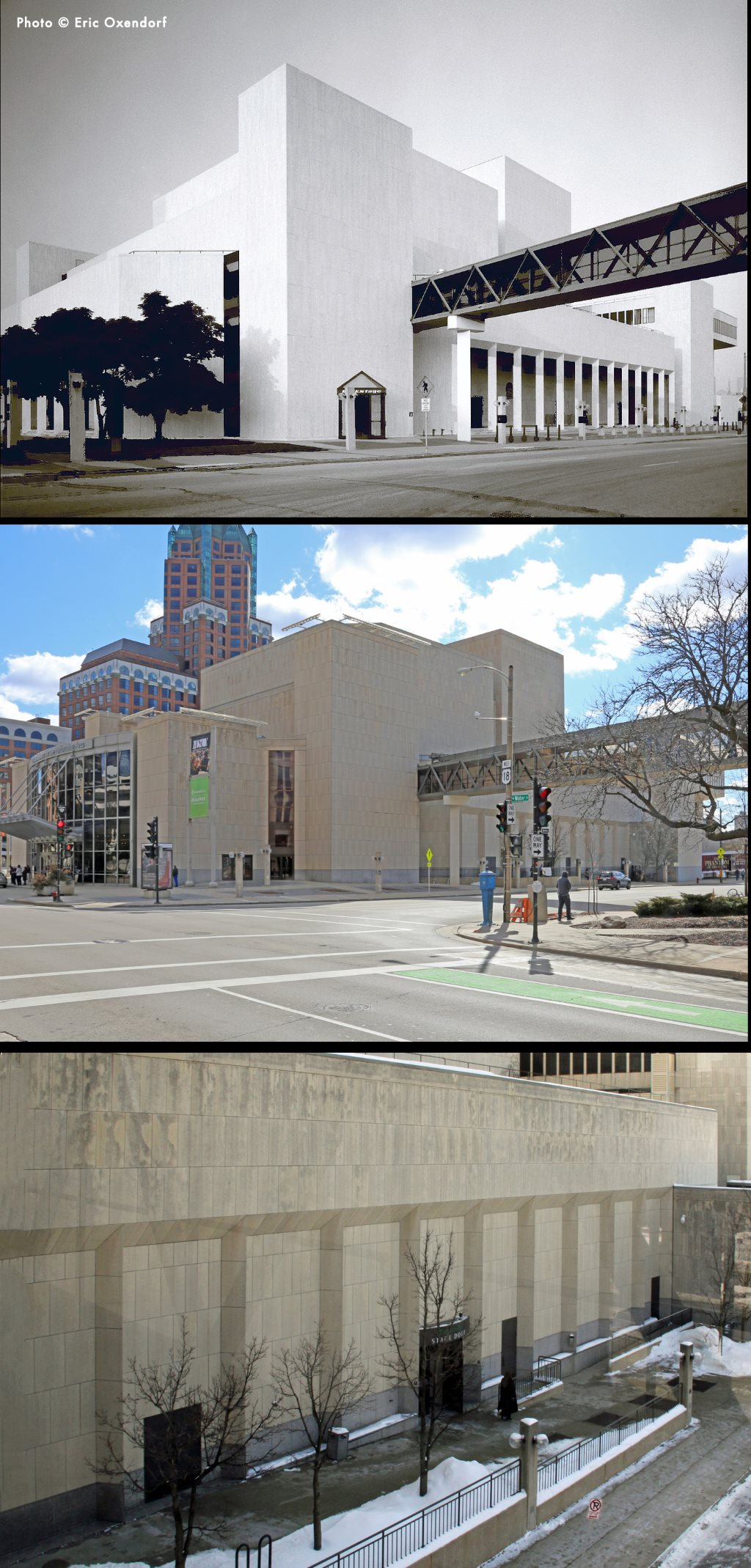 Top photo by Eric Oxendorf. Bottom two photos by John N. Vogel.