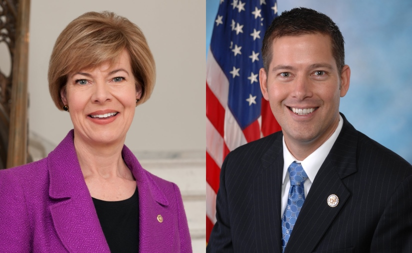 Tammy Baldwin and Sean Duffy