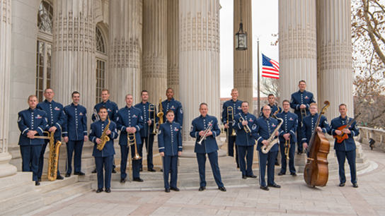 The Airmen of Note of the United States Air Force Perform Free Concert on Wednesday, May 1