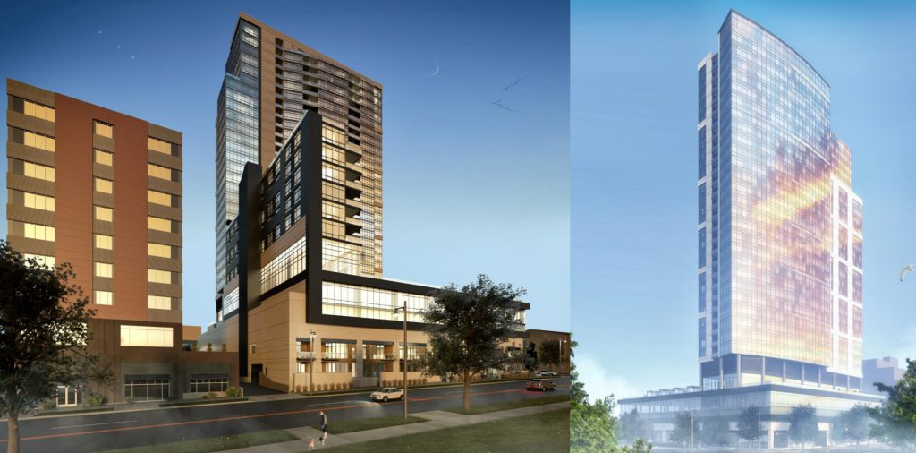 Convent Hill South. Rendering by Korb + Associates Architects.