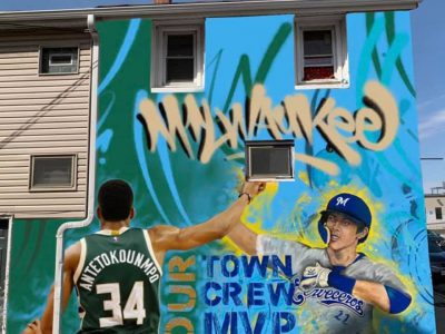 Eyes on Milwaukee: Giannis Mural Planned for Walker's Point