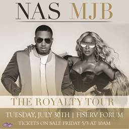 Mary J. Blige and Nas to Perform at Fiserv Forum on Tuesday, July 30