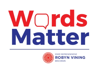 """Rep. Robyn Vining Launches """"Words Matter"""" Pledge"""
