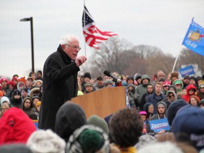 Bernie Sanders Campaigns in Madison