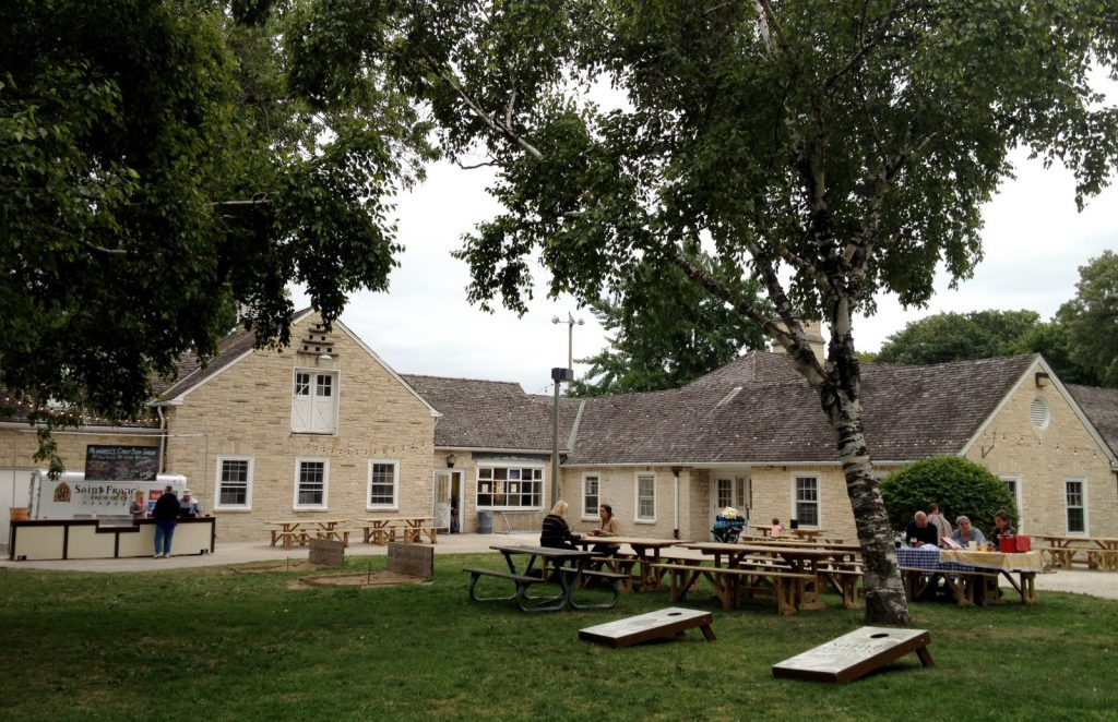 Humboldt Park Beer Garden will become Vine Humboldt. Photo by Joey Grihalva.
