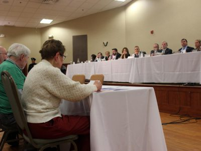 Scores of People Attend State Budget Hearing
