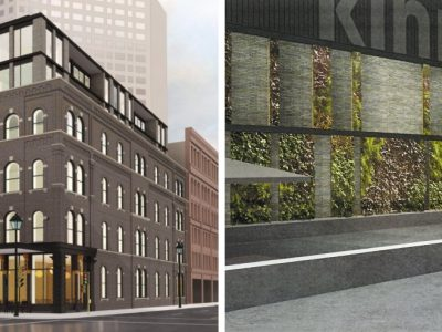 Eyes on Milwaukee: Kinn Hotel Plan Grows a Living Wall