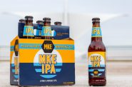 Milwaukee Brewing's MKE IPA beer. Image from Milwaukee Brewing Co.