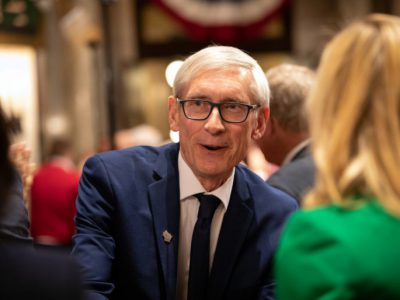 Evers' Approval, Disapproval Rises in Poll