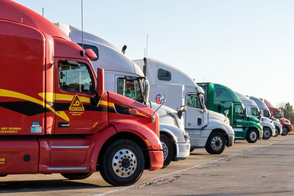 Trucks.