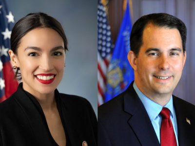 Scott Walker Loves Tweeting About AOC