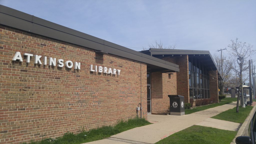 Atkinson Library. Photo by Carl Baehr.
