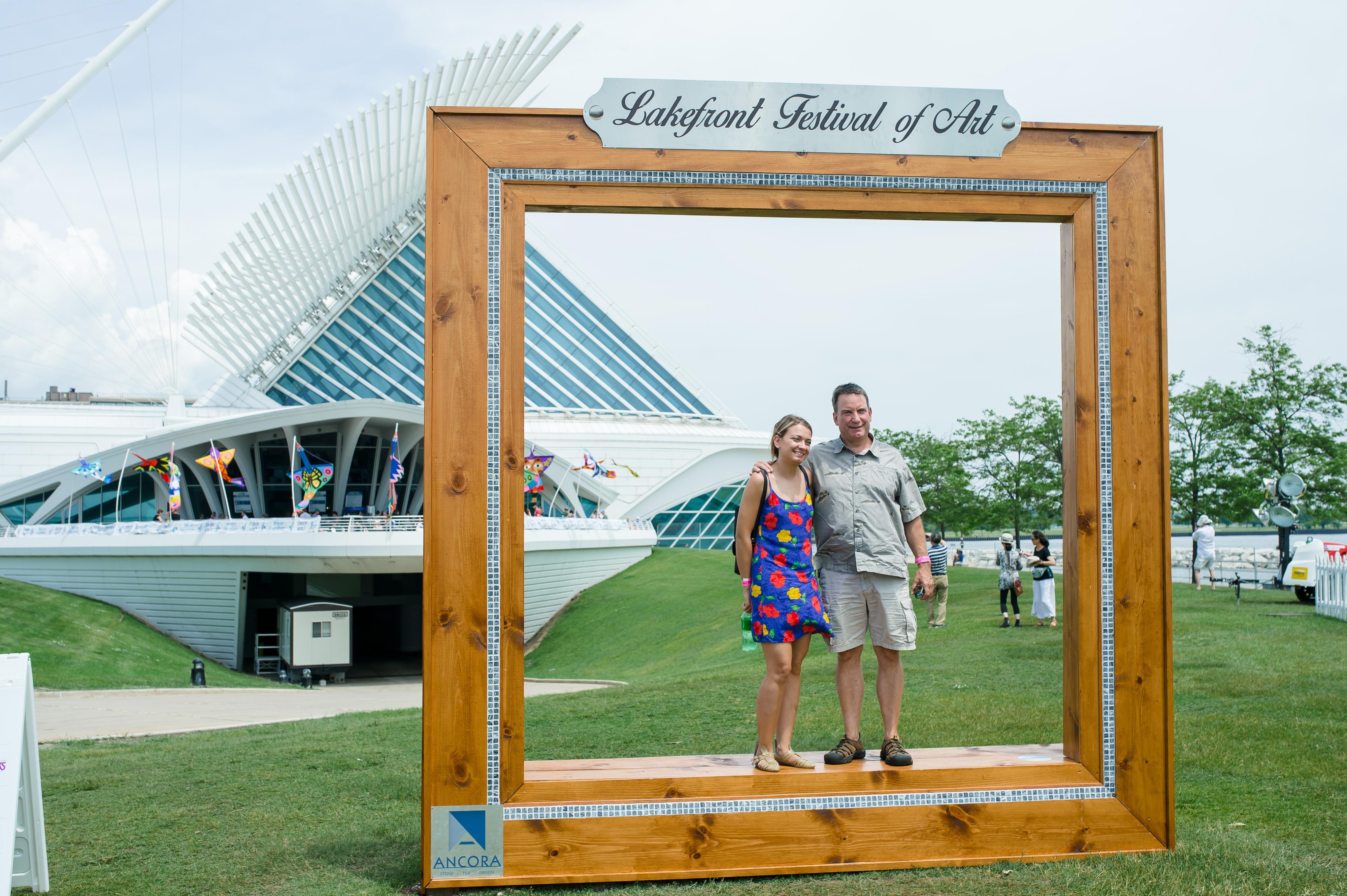 Lakefront Festival of Art. Photo courtesy of the MAM.