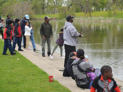 Photo Gallery: Fishing and Fun at the Washington Park Pond