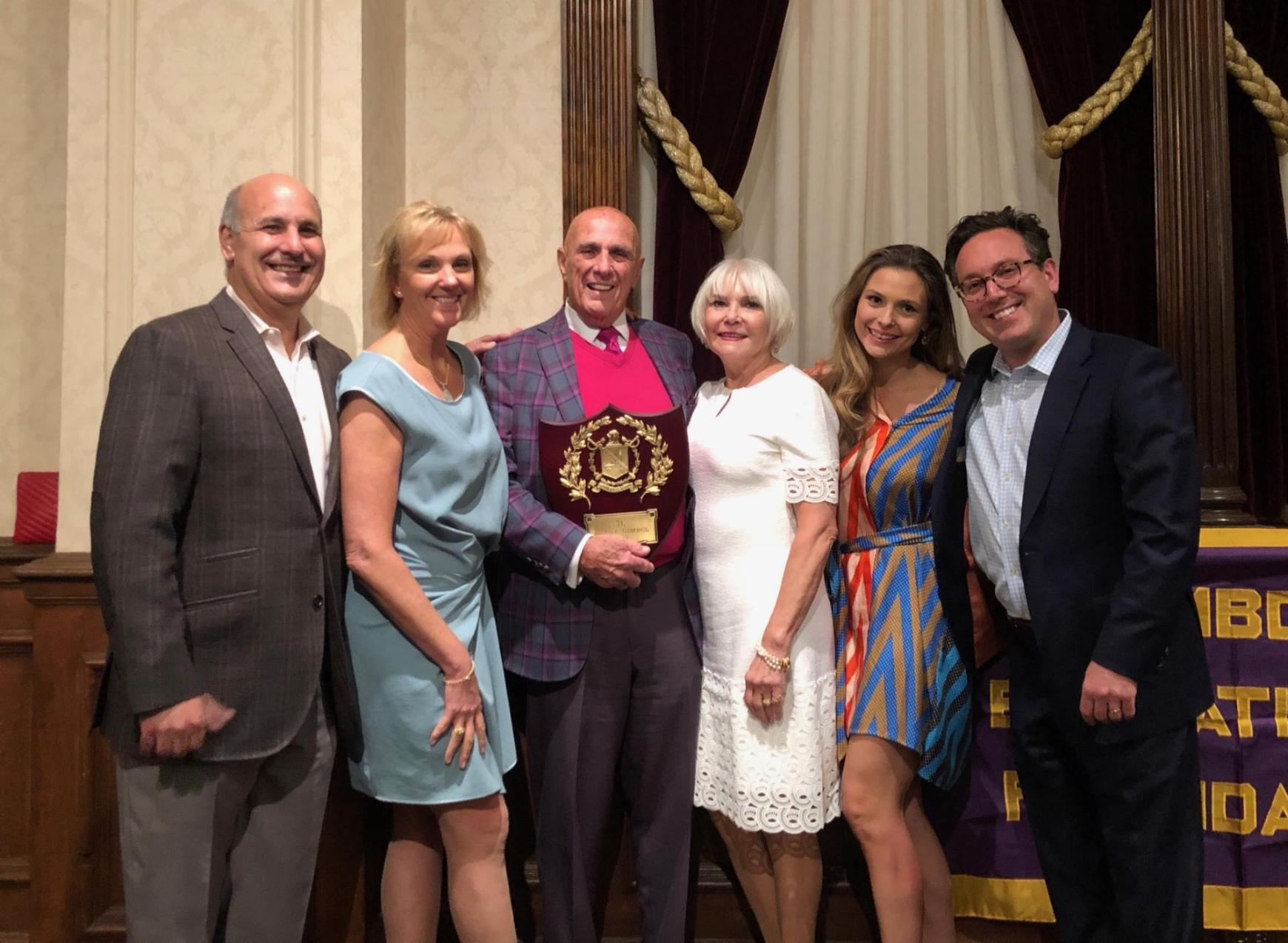 Attorney Frank Gimbel Awarded Lifetime Achievement Award by Pi Lambda Phi Fraternity