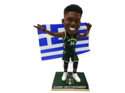 "Giannis Antetokounmpo ""Greek Freak"" Bobblehead Unveiled"