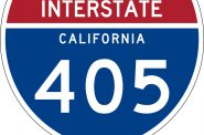 I-405. Image is in the Public Domain.