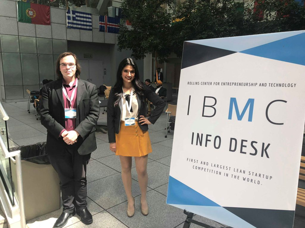 Izabelle Villafuerte and Michael Kirsanov. Photo courtesy of MIZI.