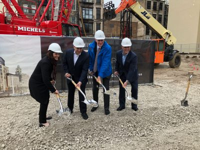 Eyes on Milwaukee: Downtown Huron Building Breaks Ground