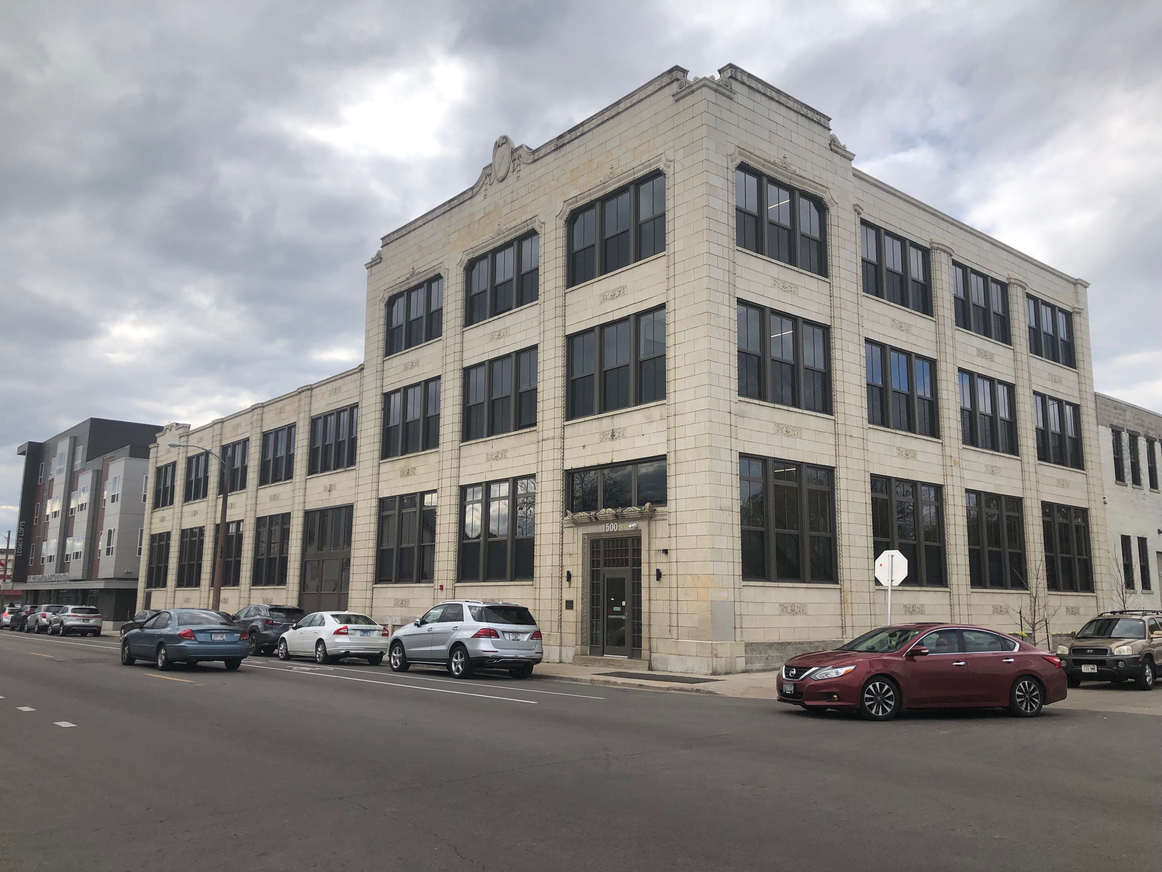 Legacy Lofts at 1500 W. North Ave. Photo by Jeramey Jannene.