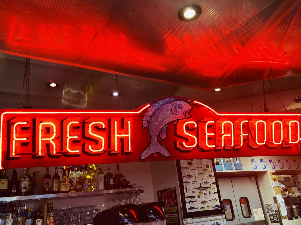 Fresh Seafood at St. Paul Fish Company. Photo by Kelly Quick.