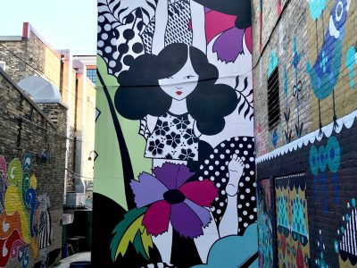 Westown to blossom this summer with new gateway mural by Emma Daisy Gertel