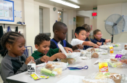About 100 MPS students headed to Madison on Tuesday to lobby for better school lunches. Photo courtesy of Milwaukee Public Schools.
