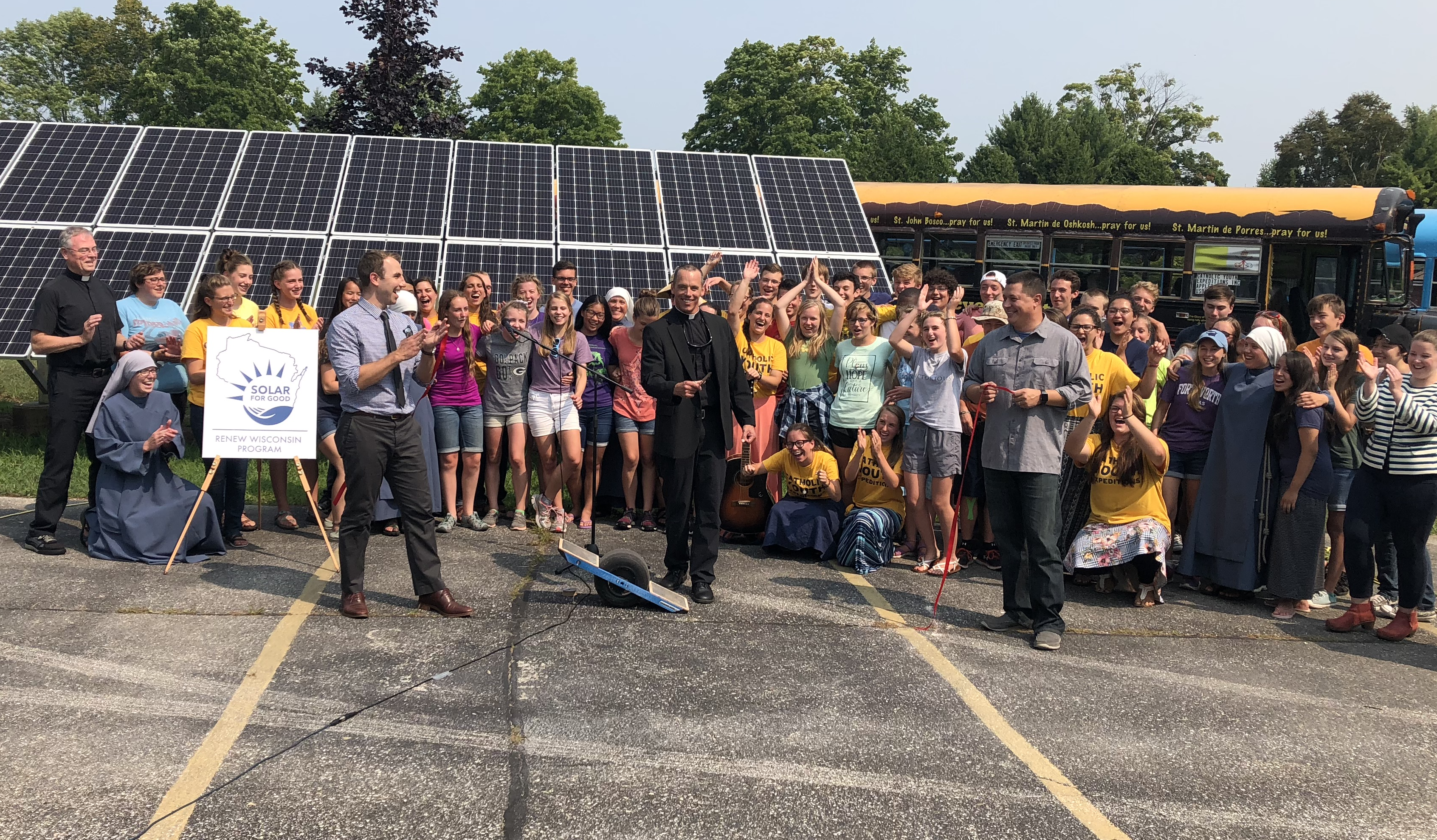 """Solar for Good"" Program Assists 12 More Wisconsin Nonprofits with Solar Panels"