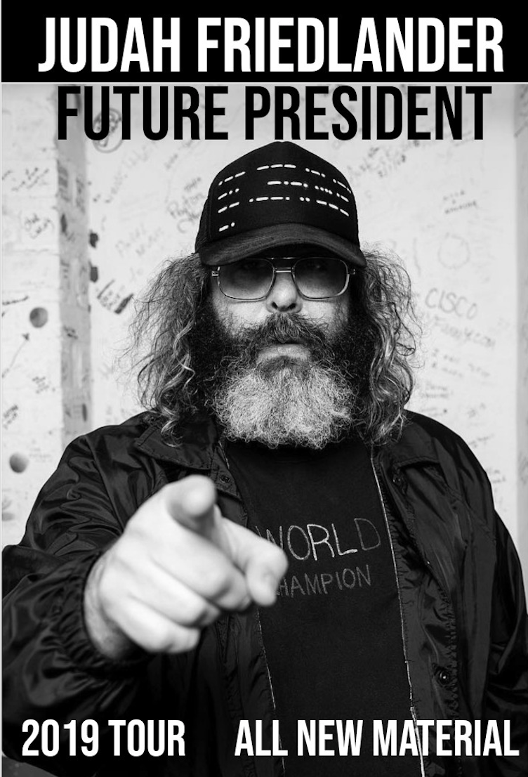 Judah Friedlander Headlining Milwaukee Comedy Festival