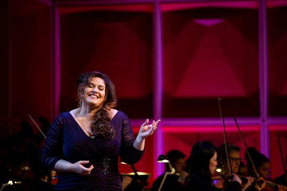 Alexandra LoBianco. Photo by Joshua Behrend, Joshua MKE Photo/Design courtesy of the Florentine Opera Company.