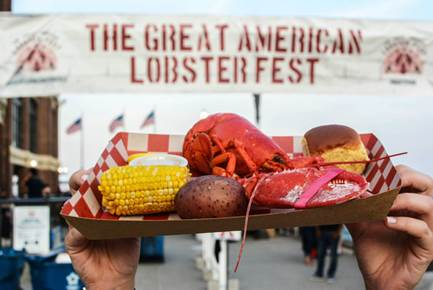Provided by The Great American Lobster Festival