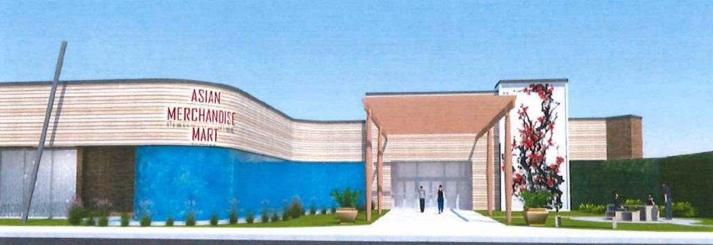 Northridge Mall rendering. Image from US Black Spruce Enterprise Group letter.