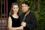Guest guitarists Elina Chekan and Rene Izquierdo. Photo from Milwaukee Musaik.