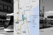 The Hop streetcar extension map. Map from City of Milwaukee.