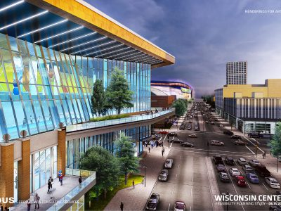 Plats and Parcels: State Aids Convention Center Expansion
