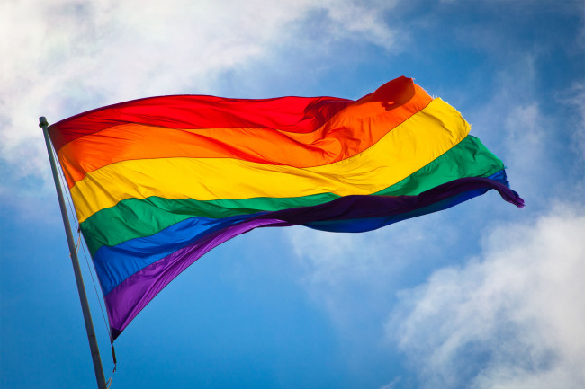Pride Flag. Photo is in the Public Domain.