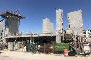 St. Rita Square construction. Photo by Jeramey Jannene.