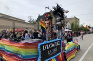 LVL Complex float at the 2019 Milwaukee Pride Parade. Photo by Jeramey Jannene.