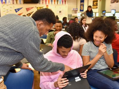 MPS Centers Connect Students to College