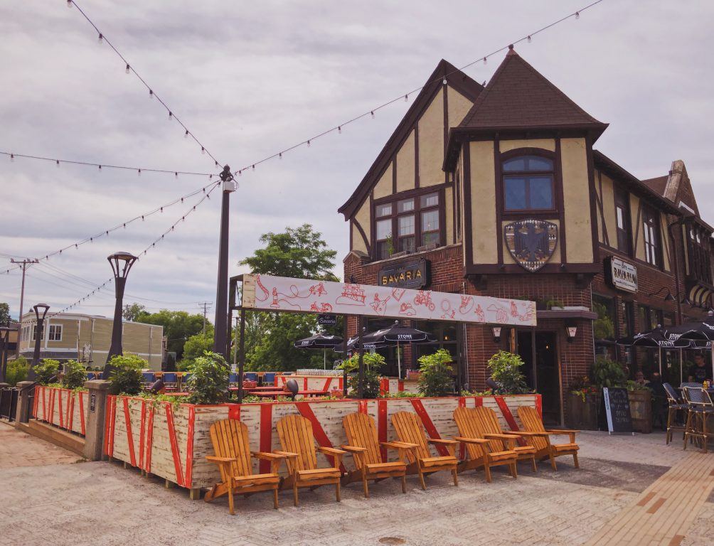 Tosa Village Beer Garden. Photo courtesy of Lowlands Group.