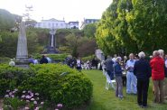 Garden Party at Villa Terrace. Photo by Jack Fennimore.