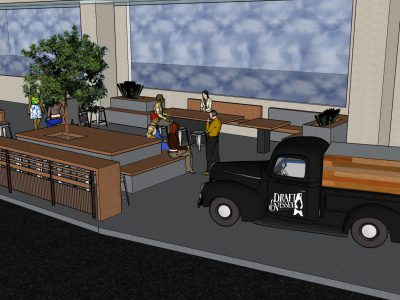 Seasonal beer truck patio coming to Public Market