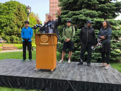 Transportation: Mayor, Aldermen Celebrate Wisconsin Bike Week