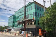 The East Sider construction. Photo by Jeramey Jannene.