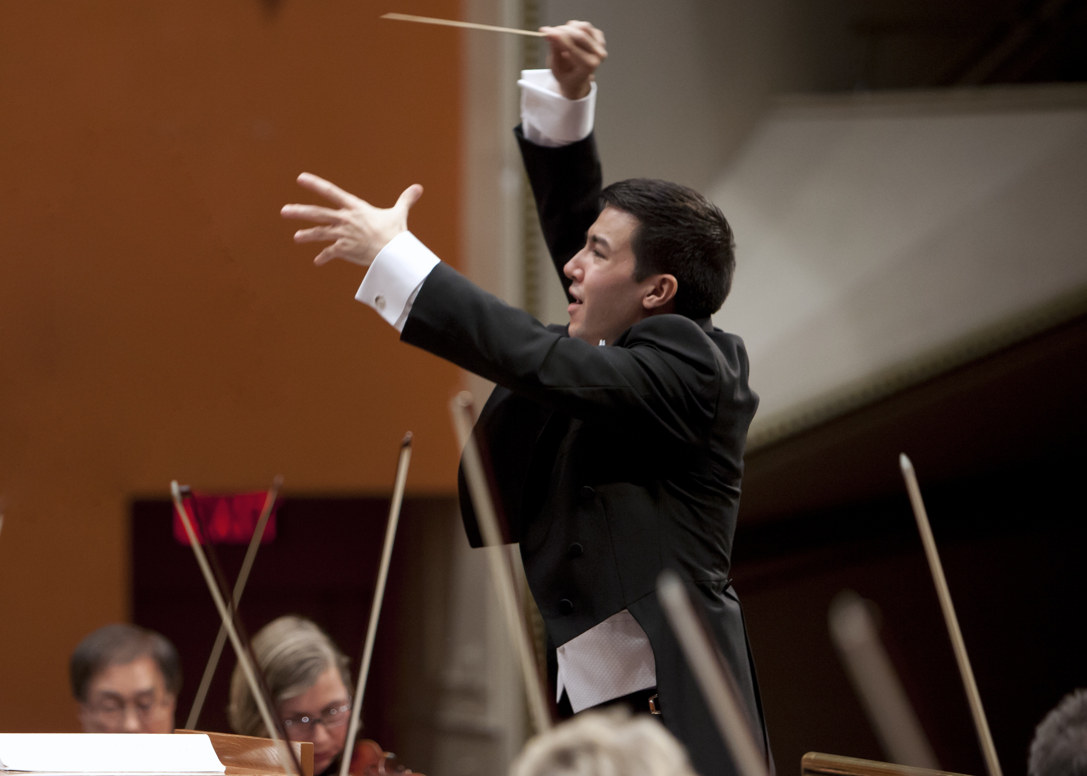 Francesco Lecce-Chong. Photo courtesy of the Milwaukee Symphony Orchestra.