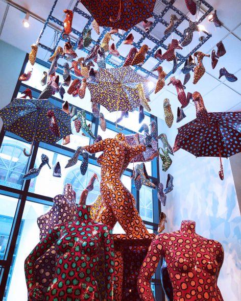 "Sculpture ""Downtown Women,"" by Lon Michels. Photo courtesy of MOWA."