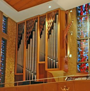 Organ - Saint Jude the Apostle. Photo courtesy of the American Guild of Organists.